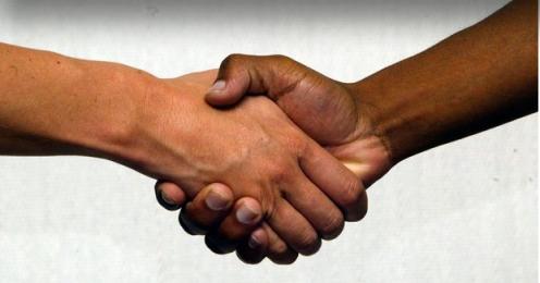 handshake copy